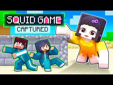 CAPTURED In SQUID GAME In Minecraft!
