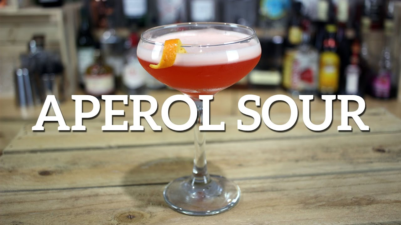 Aperol Sour Cocktail Recipe