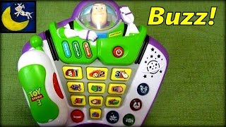 Toy Story 3 Buzz Lightyear Talk and Teach Phone & Voice Changer Toy! SO NEAT!