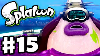 Splatoon - Gameplay Walkthrough Part 15 - Undeniable Flying Object! (Nintendo Wii U)