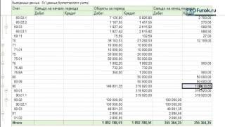 Как определить фин.результат в 1C.2 Закрытие счетов 90.91. Фрагмент урока 14