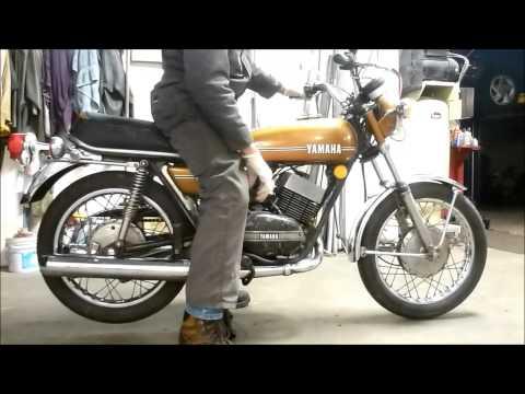 1974 Yamaha RD250 two stroke