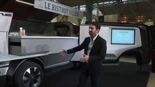 Food truck concept car Peugeot / Cédric Faiche BFMTV