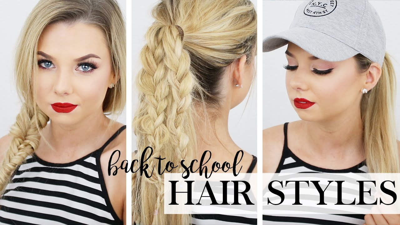 5 hairstyles for back to school - long hair hairstyles - zala hair extensions