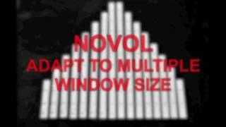 Model Novol removable security window bars