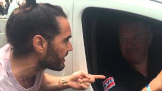 Friend Of Tunisia Victims Confronts Russell Brand