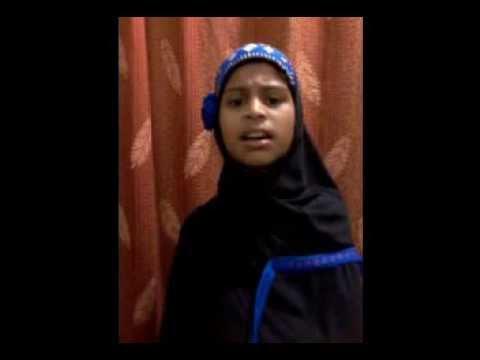madine se aayi hawa khubsurat by Bint E Hafiz Md Ghouse. Hashmathpet