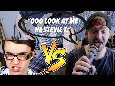 Reacting to Stevie T. reacting to my reaction (+Diss Track)