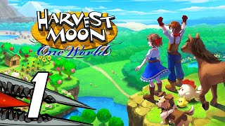 Harvest Moon: One World - Gameplay Walkthrough Part 1 (No Commentary, Switch)