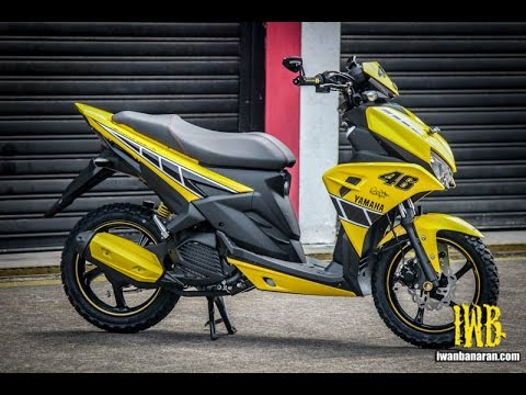 yamaha aerox 125 lc sentul indonesia 2016 youtube. Black Bedroom Furniture Sets. Home Design Ideas