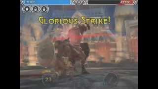 Blood & glory 2 legend : battle 10-6 final bossfight gameplay on ipad retina display hd