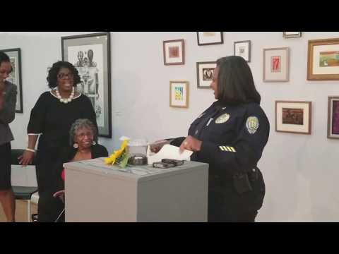 Busta Brown highlights Winston-Salem Police Chief Catrina A. Thompson for The Chronicle