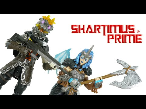 Fortnite Valkyrie & Molten Battle Hound 6 Inch Legendary Series Jazwares Action Figure Review
