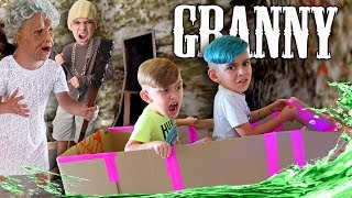 GRANNY Chapter Two BOAT ESCAPE In Real Life (Funhouse Family)