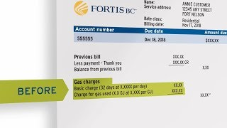Fort Nelson's natural gas bill is changing | FortisBC