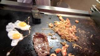 Grand China Buffet Hibachi Grill cooked to order