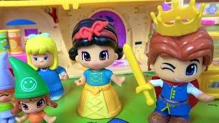 Pamuk Prenses ve yedi cüceler Heidi Maşa Kayu ile tanışıyor Tatlı cadı ve külkedisi Oyuncak şehrinde