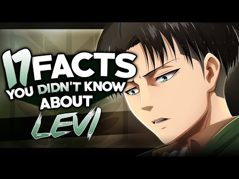 17 Facts About Captain Levi You Probably Didn't Know! (Attack On Titan)