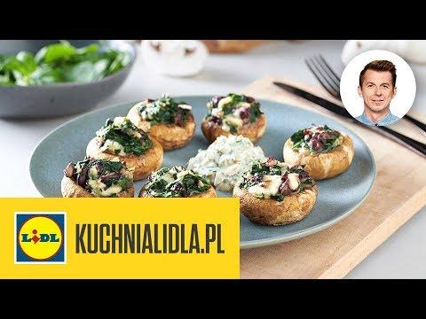 Faszerowane Pieczarki Szybki Przepis Karol Okrasa Kuchnia Lidla