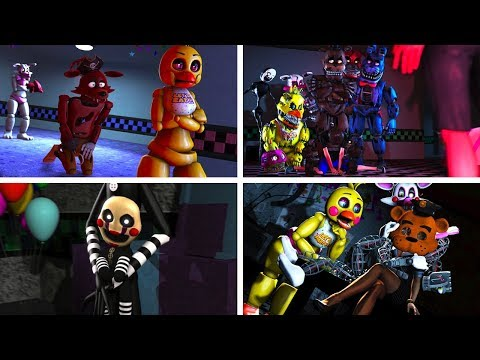 FNAF SFM Old Memories Season 2: Episodes 1-6 (Five Nights At Freddy's Animation)