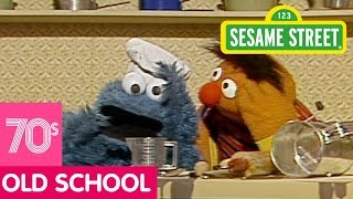 Sesame Street: Cookie Monster and Ernie Make Apple Raisin Walnut Cookies