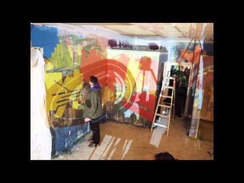 Shasta Mural Day 2 - timelapse #3