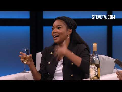 "Gabrielle Union & Steve Harvey Play ""More Wine Please"""