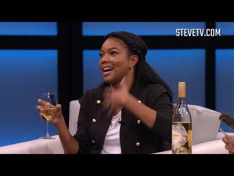 "Gabrielle Union & Steve Harvey Play ""More Wine Please"""
