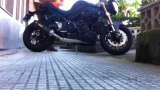 Akrapovic Speed Triple 2011