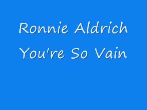 Ronnie Aldrich - You're So Vain