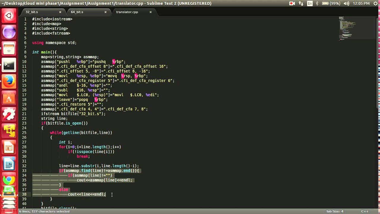Translator To Convert 32 Bit Asembly Code 64 Embly