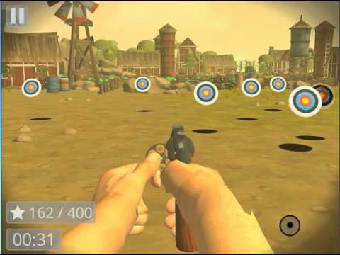 Revolver Shooting Range: Magnum .44 - Accuracy & Reflex Target Shooting Game iOS Gameplay