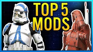 Top 5 Mods of the Week - Star Wars Battlefront 2 Mod Showcase #11