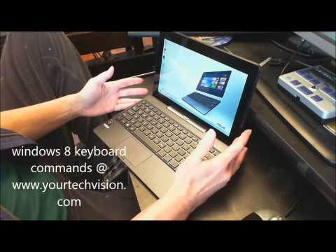 Windows 8 Keyboard commands and accessibility with Jaws