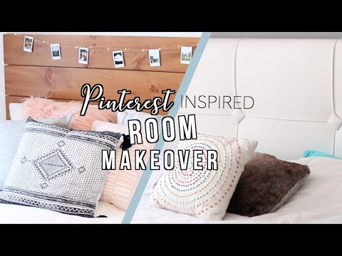 Pinterest Inspired Room Makeover! 2017
