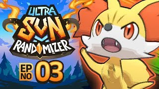 Pokémon Ultra Sun Randomizer Nuzlocke - Episode 03 | RAINBOW ROCKET STRIKES BACK