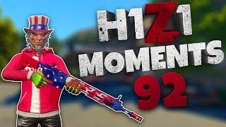 H1Z1 - BEST MOMENTS AND STREAM HIGHLIGHTS #92