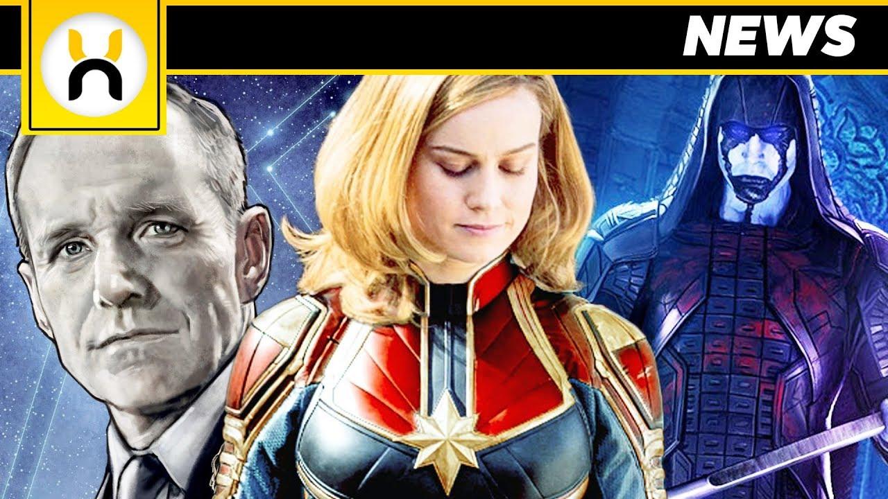 captain marvel plot synopsis & major mcu characters revealed - youtube