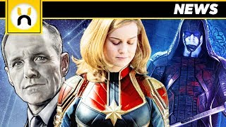 Captain Marvel Plot Synopsis & MAJOR MCU Characters Revealed