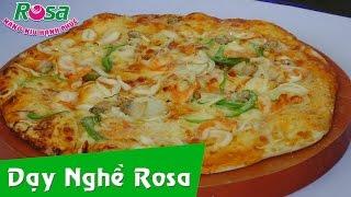Thi làm bánhh Pizza _Rosa đạt giải nhất