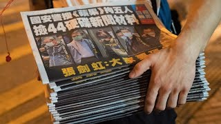 Hong Kong's Apple Daily Runs Low on Funds to Print Paper