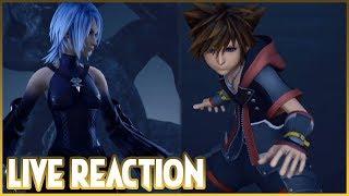 Live Reaction - Kingdom Hearts III TGS Gameplay - Sora vs. Aqua and more!