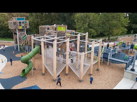 French Regional Park - Plymouth, MN - Visit A Playground - Landscape Structures