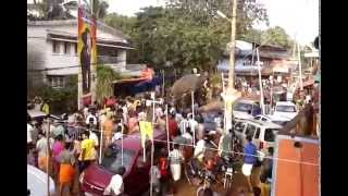 elephant violent kunnamkulam thrissur