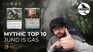 Top 10 Mythic! JЏND is GAS! | CROKEYZ MTG Arena