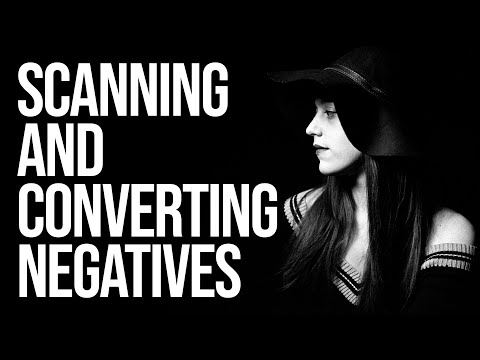 How to Scan and Convert your Negatives at Home (using Adobe Lightroom or Photoshop)