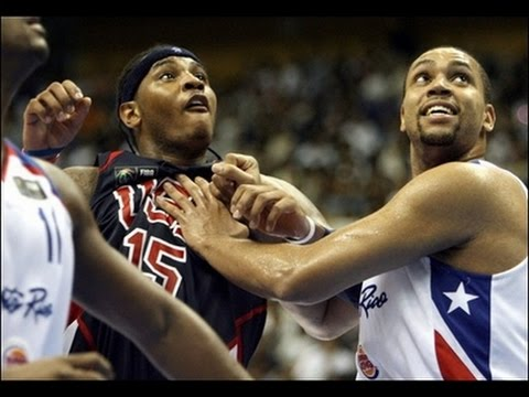 USA vs Puerto Rico 2006 FIBA World Basketball Championship Group Game FULL GAME English