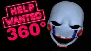 360° VR Horror scary Game Five Nights at Freddy's Help Wanted (Immersive POV gameplay video)