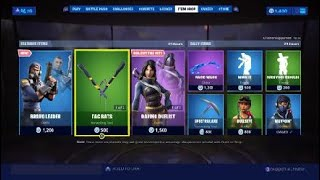 Fortnite Item Shop 8/13/19 *NEW* Bravo Leader Skin!