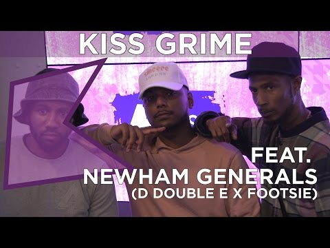 D Double E x Footsie Freestyle + Chat | KISS Grime with Rude Kid